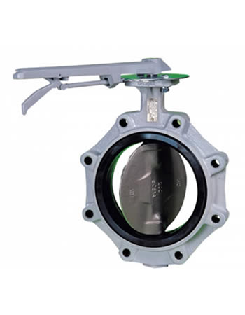 Farmerette Cheese Crab Meat - Rubber Lined Butterfly Valves